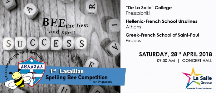 1st Lasallian Spelling Bee Competition for 8th Graders