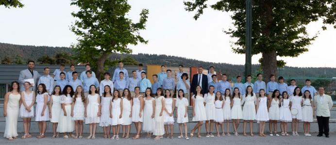 Τελετή Αποφοίτησης της ΣΤ΄ Δημοτικού του Κολεγίου «ΔΕΛΑΣΑΛ» | 2020