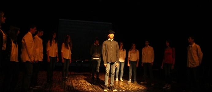 Ο γαλλόφωνος θεατρικός όμιλος στο 25ο Διεθνές Φεστιβάλ Γαλλόφωνου Εφηβικού Θεάτρου στη Γάνδη