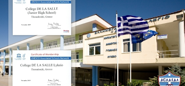 Γυμνάσιο - Λύκειο Κολεγίου «ΔΕΛΑΣΑΛ» - Member of UNESCO Associated Schools
