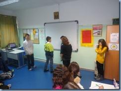 Forum Theatre – δραματοποίηση μιας σκηνής σχολικής βίας από τους μαθητές της Ε΄ τάξης.