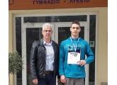 1η θέση στους Πανελλήνιους Σχολικούς Αγώνες Κολύμβησης