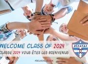 Καλωσορίσατε μαθητές της τάξης του 2024!