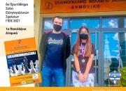 6ο Πρωτάθλημα Σκάκι Ελληνογαλλικών Σχολείων ΓΙΕΙΕ 2021 1ο Πανελλήνιο Ατομικό