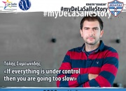 "Τόλης Συμεωνίδης: ""If everything is under control then you are going too slow"""